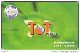 Thailand Phonecard TOT Nr. 332 T O T