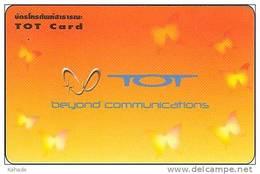 Thailand Phonecard TOT Nr. 335 T O T