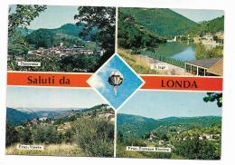 SALUTI DA LONDA  VIAGGIATA  FG - Firenze
