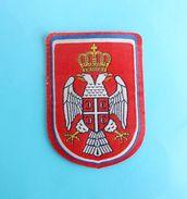 BOSNIAN SERB ARMY Banja Luka - Old & Rare Patch ( Bosnia - Republica Srpska )  Bosnie Serbe Armee Ecusson Chetnik Serbia - Patches
