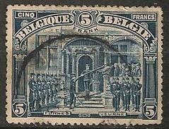 Timbres - Belgique - 1919 - 5 F - N° 148 - Veurne - - Used Stamps