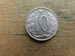 Tchecoslovaquie  10  Haleru  1966 Km 49 - Tchécoslovaquie