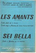 LES AMANTS - SEI BELLA  Deani Marini  Gruppo Editoriale Leonardi - Musica Popolare
