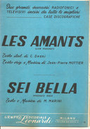 LES AMANTS - SEI BELLA  Deani Marini  Gruppo Editoriale Leonardi - Folk Music
