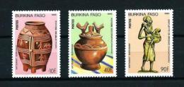 Burkina Faso  Nº Yvert  682/4  En Nuevo - Burkina Faso (1984-...)