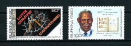 Burkina Faso  Nº Yvert  750/1  En Nuevo - Burkina Faso (1984-...)