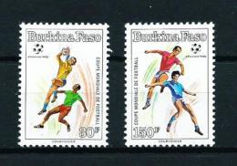 Burkina Faso  Nº Yvert  818/9  En Nuevo - Burkina Faso (1984-...)