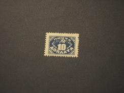RUSSIA - TASSE - 1925 CIFRA 10 K. - NUOVI(+)