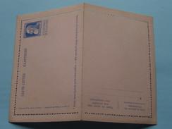CARTE LETTRE - KAARTBRIEF / 25 Cent Blauw ( Omslag / Enveloppe - Zie Foto's ) ! - Interi Postali