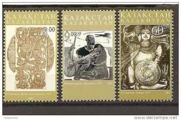 Kazakistan - Serie Completa Nuova: Arte Locale - 2002 - - Kazakistan