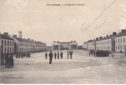 56. LORIENT. CPA . LE QUARTIER FREBAULT. ANNEE 1913 - Casernes