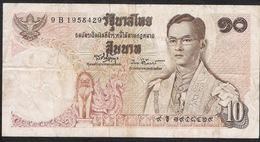 THAILAND P83a 10 BAHT 1969  #9B  Signature 41  FIRST SIGNATURE !FINE NO P.h. ! - Thailand