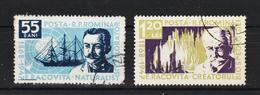 1958 -  90e ANNIV. DE LA NAISSANCE D´EMIL RACOVITA,   MI=1731/1732 Et Yv No 1590/1591 - 1948-.... Republiken