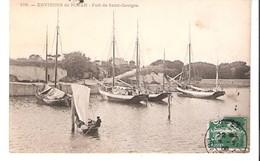 Environs De Royan-Saint-Georges-de-Didonne-écrite En 1906-Le Port-Bateaux-Voiliers - Saint-Georges-de-Didonne