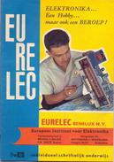 Tijdschrift Magazine Eurelec - Elektronica - Schriftelijk Onderwijs - Brussel Rotterdam - - Practical