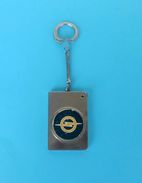 OPEL - Vintage Metal Keychain Car Automobile Automobil Key-ring Porte-clés Schlüsselring Anello Portachiavi Key-chain - Key-rings