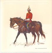 Brochure 100 Jaar Canadian Mounted Police 1873 - 1973 - Chromo Sergeant 1898 + 1874 Canada - Vieux Papiers