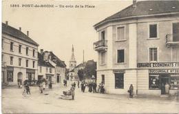 25. PONT DE ROIDE. N 1592.  UN COIN DE LA PLACE - Autres Communes