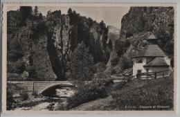 Airolo - Cappella Di Stalvedro - Photo: A. & W. Borelli - Bahnstempel - TI Tessin
