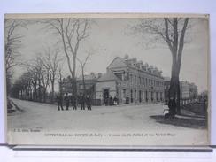 76 - SOTTEVILLE LES ROUEN - AVENUE DU 14 JUILLET ET RUE VICTOR HUGO - ANIMEE - 1918 - Sotteville Les Rouen