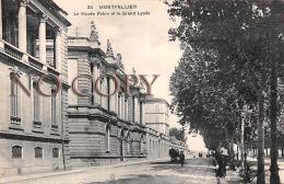 34 - Montpellier - Le Musée Fabre Et Le Grand Lycée - Montpellier