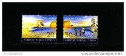 CYPRUS - 2004  EUROPA  SET MINT NH - Chypre (République)