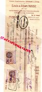 59 - CROIX- TRAITE LOUIS ET ALBERT NISSE- LEFEBVRE- IMPRIMERIE CHROMOLITHOGRAPHIE- RUE DU CREUSOT- 1934 - I
