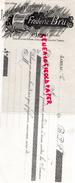 16 - JARNAC - TRAITE IMPRIMERIE LITHOGRAPHIE TYPOGRAPHIE- FREDERIC BRU- DESSINATEUR GRAVEUR- 1910 - Blotters
