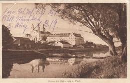 PINSK (Belarus) - Kloster Mit Kathedrale, Als FP Gelaufen, Eckknick - Belarus