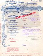 16 - ANGOULEME - FACTURE  IMPRIMERIE MANUFACTURE PAPIERS- DUPUY & CIE- USINE BEL AIR- 1918 A M. LAROCHE MOUTHIERS /BOEME - I