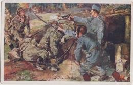 AK - K.u.K Militaria - Serie IV. ROTES KREUZ Postkarte Nr. 375 (A. Marussig) - Rotes Kreuz