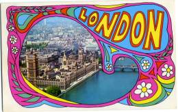 REGNO UNITO  LONDON  Hippie Colored - Altri