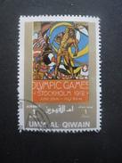 Umm Al Qiwain JEUX OLYMPIQUES De STOCKHOLM 1912 Oblitéré - Sommer 1912: Stockholm