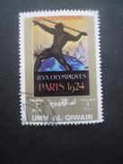 Umm Al Qiwain JEUX OLYMPIQUES De PARIS 1924 Oblitéré