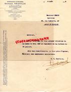 86- MONTMORILLON - FACTURE IMPRIMERIE -GEORGES NEUVILLE -4 RUE POITIERS- 1932 A M. EMARD OPTICIEN 46 RUE GAMBETTA - Carte Assorbenti