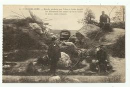 Koekelare  *  Couckelaere - Brèche Produite Par L'obus à L'aide Duquel Allemands Ont Essayé ... (Guerre - World War) - Koekelare