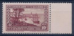 ALGERIE - 100  CENTENAIRE 10F NEUF** MNH LUXE BORD DE FEUILLE COTE 29 EUR - Algérie (1924-1962)