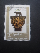 Umm Al Qiwain JEUX OLYMPIQUES De ROME 1960 Oblitéré