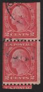 1916 US, 2c Stamp, Used, George Washington, Sc 487 - Stati Uniti