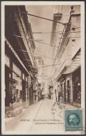 POS-504 CUBA POSTCARD. 1920. HABANA. CALLE OBISPO COMERCIOS. - Cuba