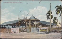 POS-507 CUBA POSTCARD. 1925. SANTIAGO DE CUBA. MERCADO. THE MARKET. - Cuba