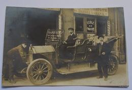 LYON-Rapid'Auto-Ecole De Chauffeurs-Carte Photo Devanture Avec Véhicule Et Personnes-Photo Papier Bioletto - Lyon