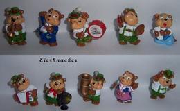 Top Ten Teddys / 1995 / Komplettsatz + BPZ - Ü-Ei