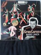 """"""" El Gran Caruso. Mario Lanza """" Disque Vinyle 33 Tours - Opera"""