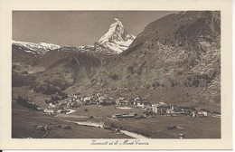CPA Suisse Zermatt Et Le Mont Cervin - VS Valais