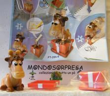 MONDOSORPRESA, (SC53) FERRERO, FERRERO MAXI, NATALE, FT-25N-8 ALCE CON CAMPANA - Maxi (Kinder-)
