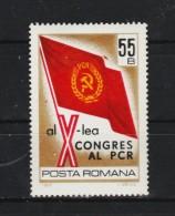 1969 - 10 Congres Du Parti Communiste Yv No 2476 Et Mi No 2789 MNH - 1948-.... Republiken
