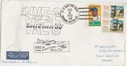 Mc Kurdo US Antarctic Station 1983 - US Navy - VXE 6 Polar Flying - Deep Freeze - Timbres