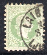 AUSTRIA 1867 , 3 Kr Usato Unificato N. 33 - 1850-1918 Empire