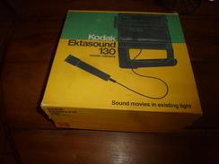 KODAK EKTASOUND 130 Movie Caméra :  Avec Notice Et Boite D'origine  (année De Fabrication Probable, Vers 1973) - Caméscope